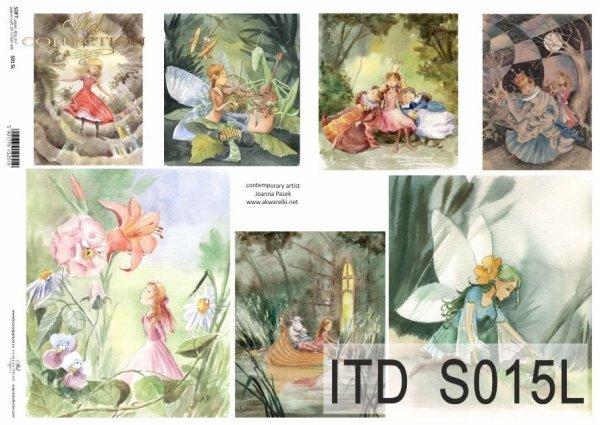Papier decoupage SOFT ITD S0015L