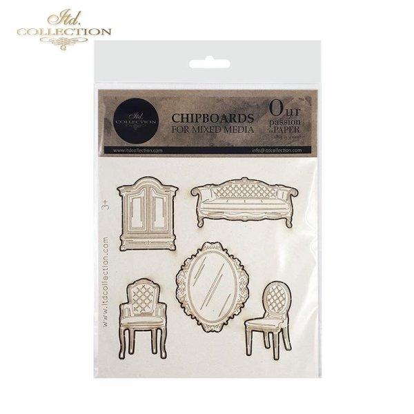 stylowe meble, sofa, lustro, krzesła, szafa