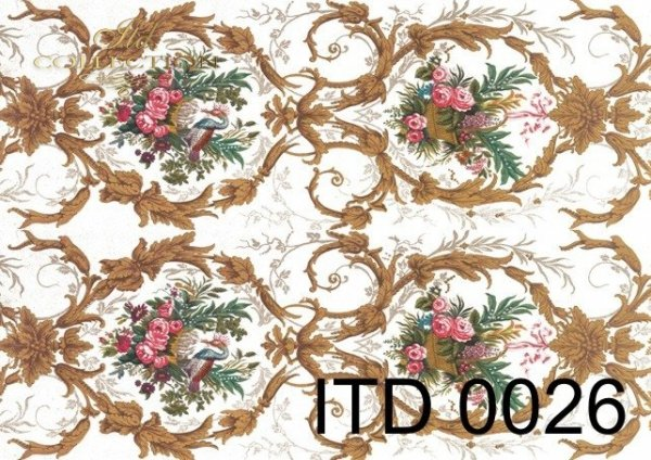 Papier decoupage ITD D0026