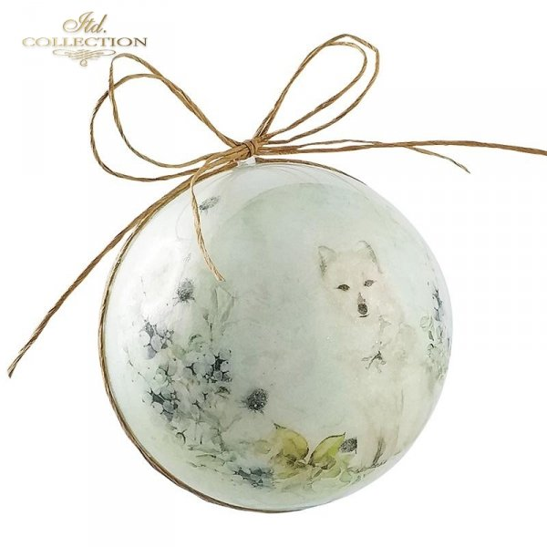 Papier ryżowy - Kraina lodowej porcelany * Rice paper - The land of ice porcelain 3