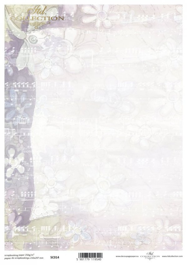Papier scrapbooking SC0014