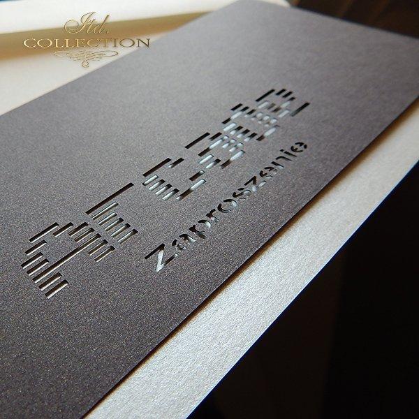 Zaproszenie biznesowe ZB1042 z kopertą