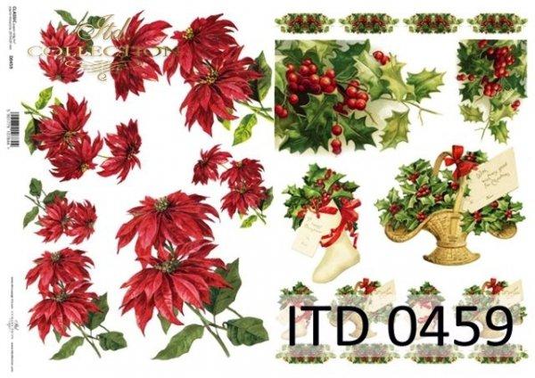 Papier decoupage ITD D0459