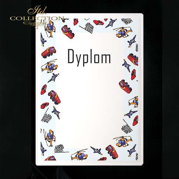 dyplom DS0034