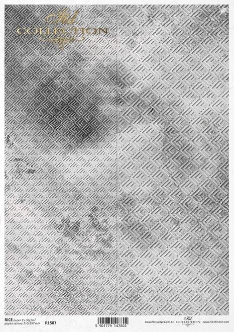 Do-decoupage-Papier-ryzowy-decoupage-R1587-szarostalowe-betonowe-tlo-z-geometrycznym-wzorem-2
