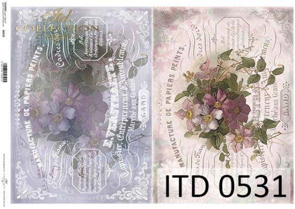 Papier decoupage ITD D0531