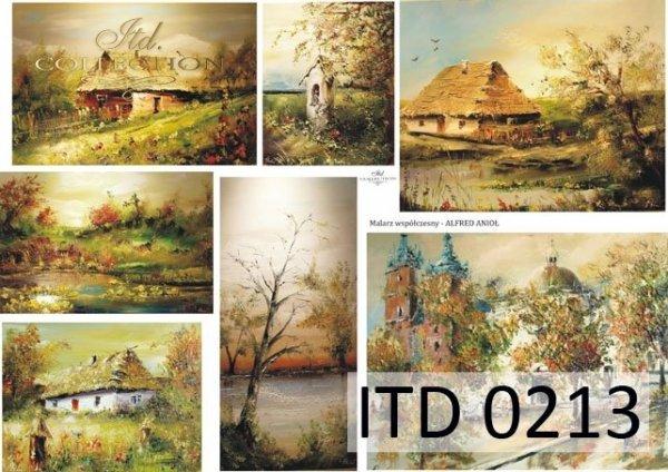 Papier decoupage ITD D0213