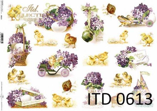 Papier decoupage ITD D0613