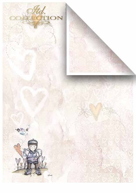 .Papier do scrapbookingu SCRAP-033 '''Valentine's Day''
