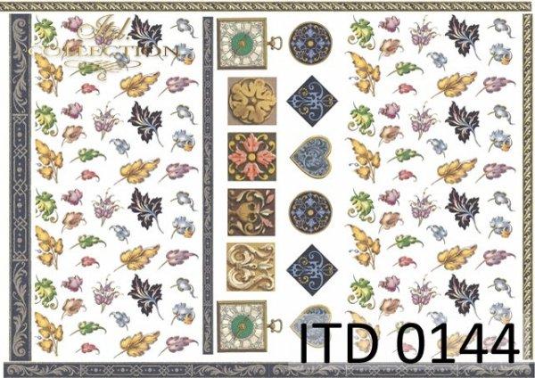 Papier decoupage ITD D0144