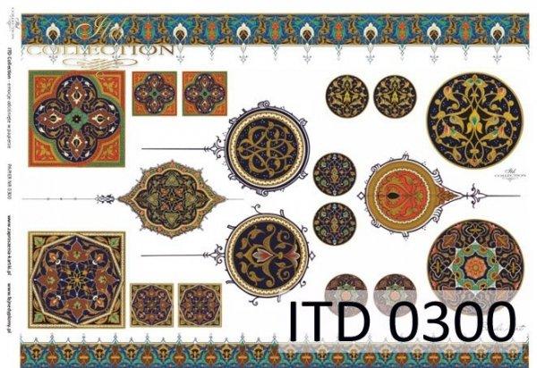 Papier decoupage ITD D0300