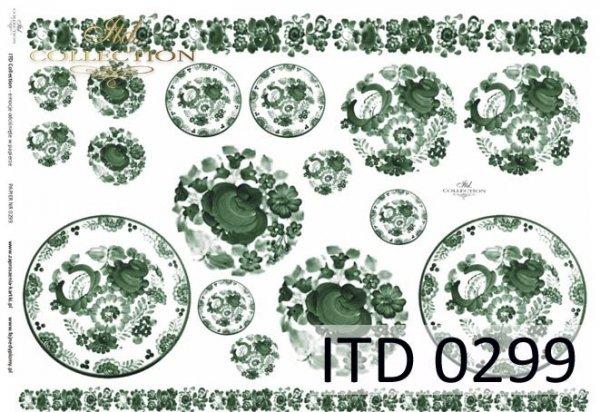 Papier decoupage ITD D0299