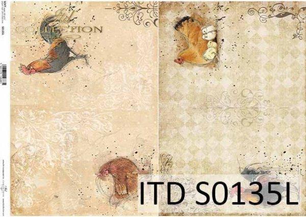 Papier decoupage SOFT ITD S0135L