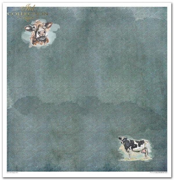 Seria Happy farm: akwarele, zwierzęta, kot, mysz, pies, zając, gęś, koza, krowa, baran, kura, kogut, świnka, kolorowe tła, wzorki, tapety, tła*Happy farm series: watercolours, animals, cat, mouse, dog, hare, goose, goat, cow, ram, chicken, rooster, pig, c