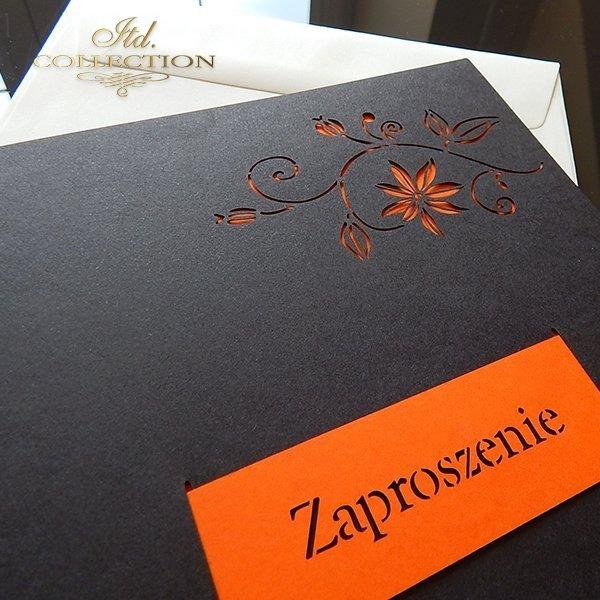 Zaproszenie biznesowe ZB1031 z kopertą