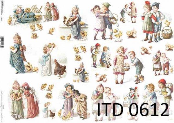 Papier decoupage ITD D0612