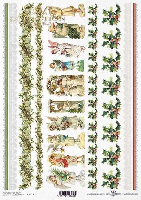Angels, Christmas motifs*ángeles, Motivos de Navidad*Engel, Weihnachtsmotive*Ангелы, Рождественские мотивы