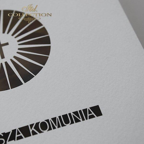 Zaproszenie komunijne 1731_022_żonkil