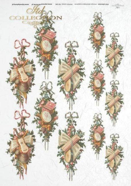 świąteczny,święta, Boże Narodzenie, stroik, ozdoba, ozdoby, bożonarodzeniowe, bożonarodzeniowy, R086