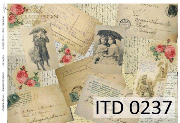 Papier decoupage ITD D0237