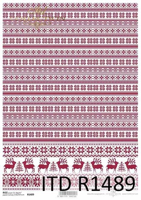 Boże Narodzenie, motywy świąteczne, dekory, reniferki, choinki*Christmas, Christmas motifs, decors, reindeers, Christmas trees