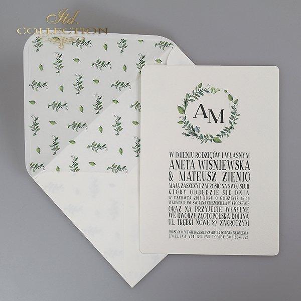 Einladung 2065 Hochzeitseinladungen*Pozvánka 2065 svatební pozvánky*Invitación 2065 invitaciones de boda