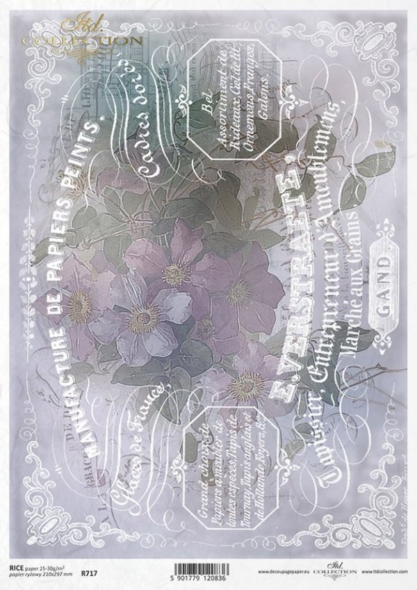 Papier ryżowy ITD R0717
