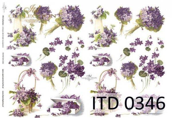 Papier decoupage ITD D0346M