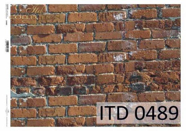 Papier decoupage ITD D0489M