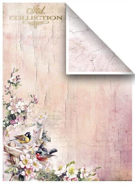 Zestawy-papierow-do-scrapbookingu-zestaw-Lato-w-rozach-SCRAP-045-06-ptaszki-motylki-kwiatki-kwiatuszki-mediowe-struktury-tla-struktury-farb-desek-spekaliny-crak