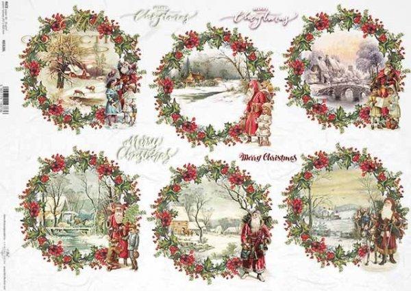 Navidad, Santa, vistas de invierno, animales*Weihnachten, Santa, Winteransichten, Tiere*Рождество, Санта, зимние виды, животные