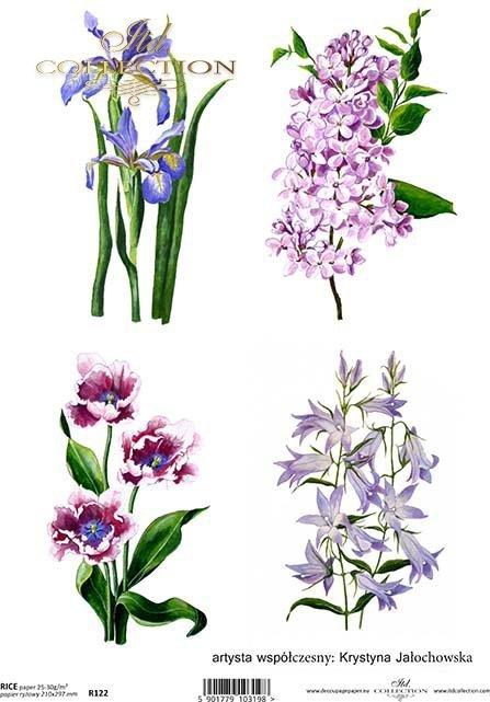 rice-paper-decoupage-flowers-meadow-garden-Krystyna-Jałochowska-R0122