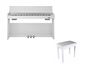 NUX WK-310 WH - pianino cyfrowe + ŁAWA