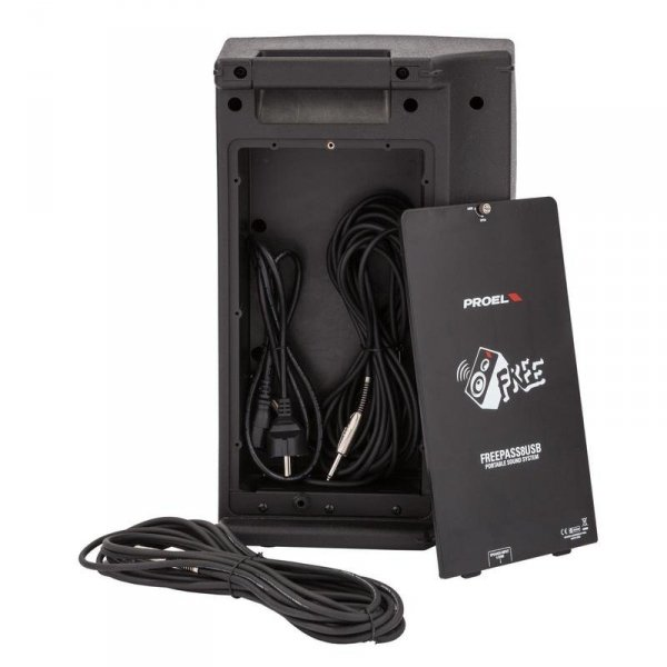 Proel Freepass 8 USB - mobilny zestaw nagłośnieniowy