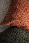 Cozy zielona poduszka dekoracyjna 50x50