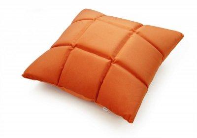 Trix duża poduszka dekoracyjna 50x50 cm. pomarańczowa MOODI