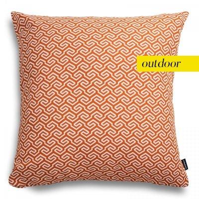 Pomarańczowa poduszka ogrodowa San Remo 45x45