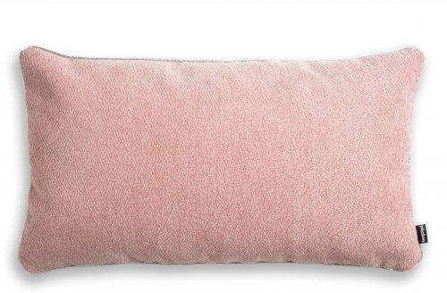 Alaska różowa błyszcząca poduszka dekoracyjna 50x30