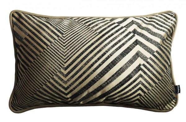Beżowa poduszka dekoracyjna Glow 50x30