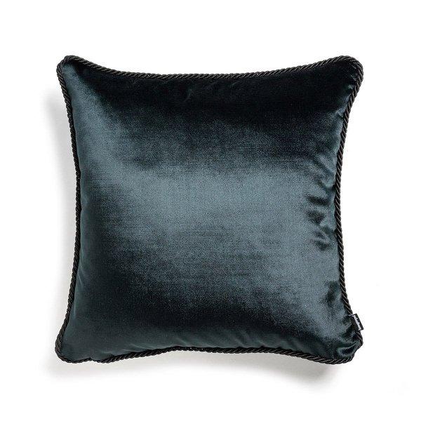 Czarna poduszka dekoracyjna Glamour