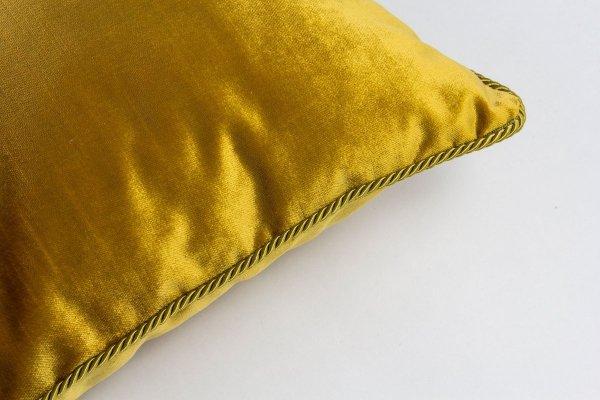 Złota poduszka dekoracyjna Glamour