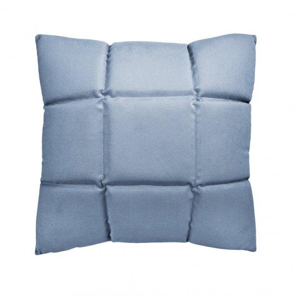 Trix duża poduszka dekoracyjna 50x50 cm. niebieska MOODI