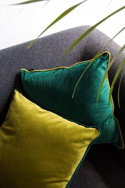 DUO zielona poduszka dekoracyjna 40x40
