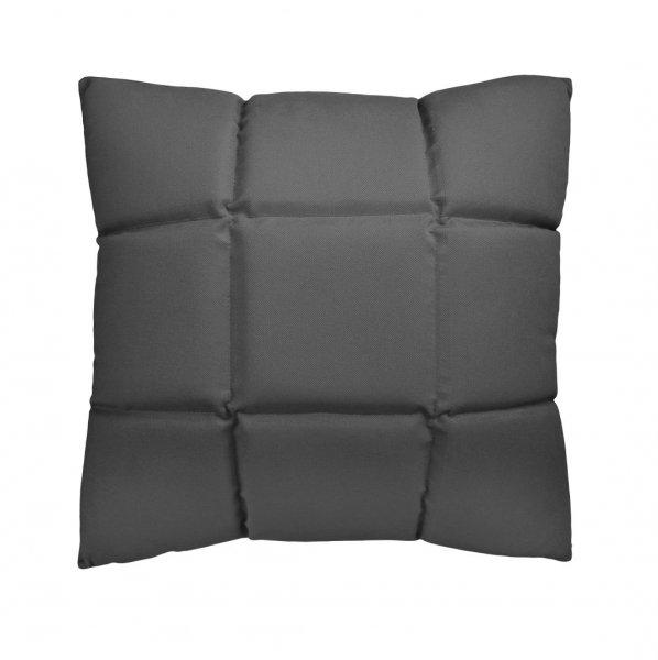 Trix duża poduszka dekoracyjna 50x50 cm. szara MOODI