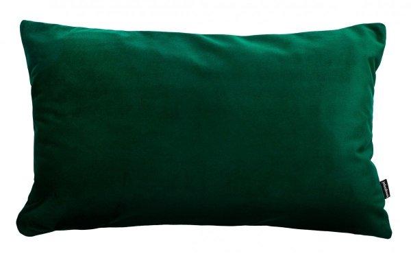 Velvet ciemno zielona poduszka dekoracyjna