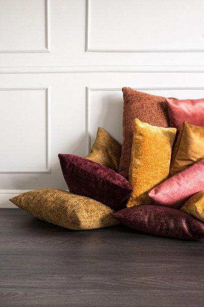 Bergen bordowa poduszka dekoracyjna 50x30