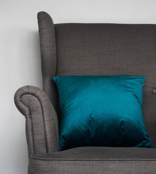 Velvet morska poduszka dekoracyjna 45x45