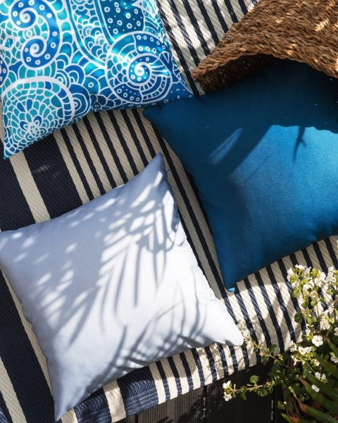 Poduszka ogrodowa Santorini 45x45