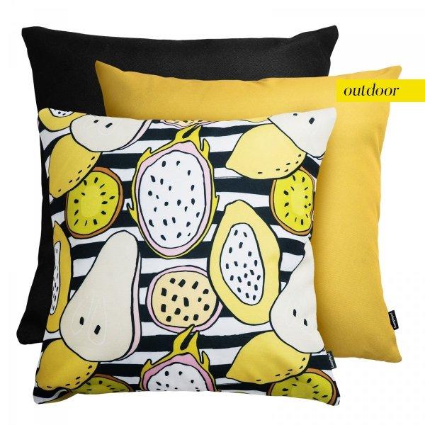 Zestaw poduszek ogrodowych Lemon