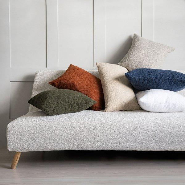 Cozy szara poduszka dekoracyjna 50x50